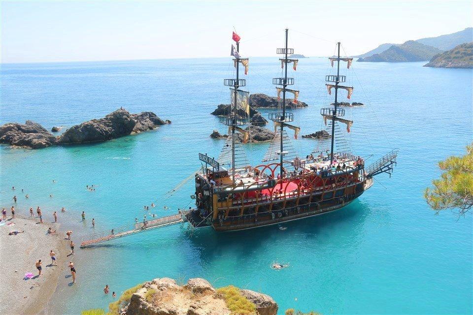 6 Islands Pirate Boat Tour, Oludeniz, Fethiye | ReAction Paragliding