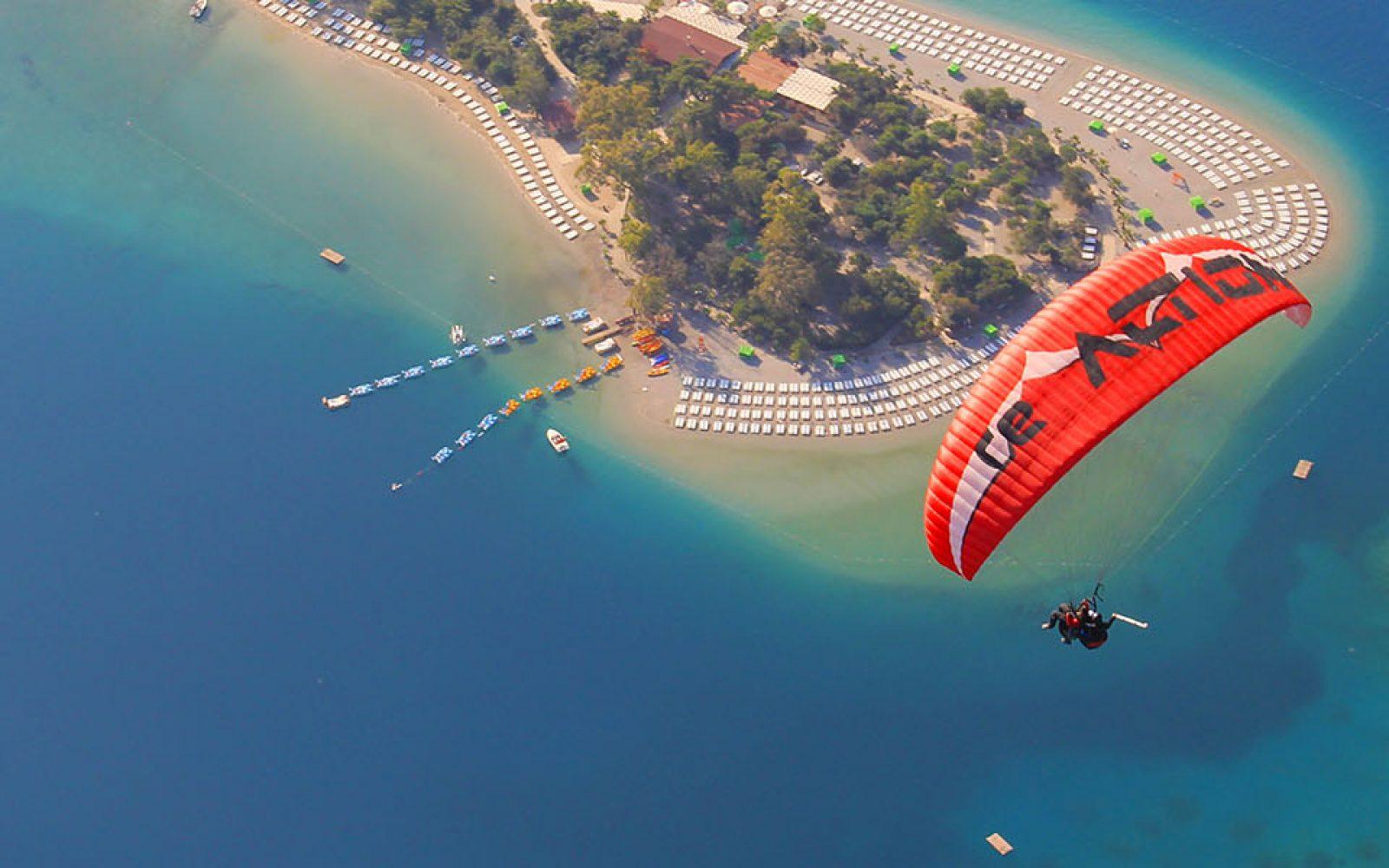 Fethiye-paraşütle-atlama
